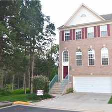 Rental info for Beautiful Spacious Townhouse for rent in the Franklin Farm area