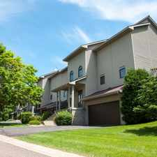 Rental info for Oaks Lincoln Townhomes in the 55436 area