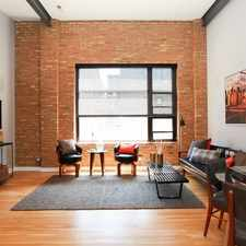 Rental info for OPEN HOUSE SAT OCTOBER 3RD 12-2PM - Just Listed Bucktown modern and unique top floor loft with private deck!