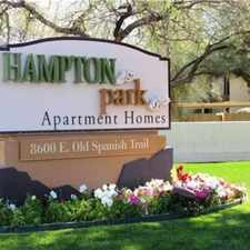 Rental info for Hampton Park Apartment Homes in the Tucson area