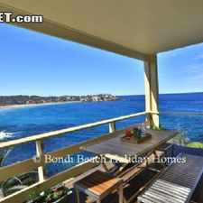 Rental info for 12000 2 bedroom Apartment in Eastern Suburbs Bondi North in the Tamarama area