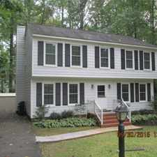 Rental info for 4 Bed / 2/12 Bath Colonial in Chesterfield Only $1350 in FERNBROOK