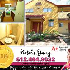 Rental info for Natalie Young in the West Congress area
