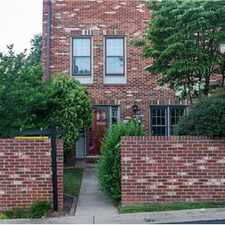 Rental info for For Rent - End Unit Townhouse, McLean, VA in the McLean area