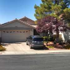 Rental info for $2000 3 bedroom House in Henderson in the Green Valley South area