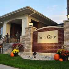 Rental info for Iron Gate