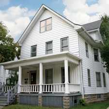 Rental info for 307 S Brooks Street in the Greenbush area