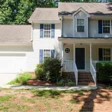 Rental info for Beautiful home in Carolina Trace