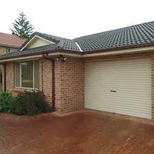 Rental info for Homely Villa in the Wollongong area