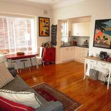 Rental info for TWO BEDROOM + SUNROOM in the Coogee area