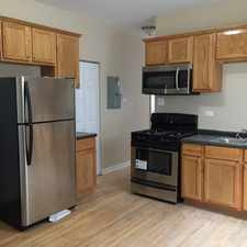Rental info for Hardwood Floors Stainless Steel Appliances Washer/Dryer in Unit Energy Efficient Furnace & Hot Water Heater Central Air Fenced Yard Park with pool across street in the South Chicago area