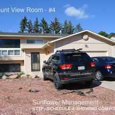 Rental info for 1408 Mount View Room in the Cragmoor area