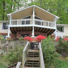 Rental info for COME HOME TO RELAXATION ON THE LAKE!
