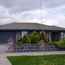Rental info for 3 BR WITH GARAGE PLUS SHED AT REAR in the Traralgon area
