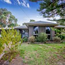 Rental info for Great family home! $370 p/w - $1608 pcm in the Melbourne area
