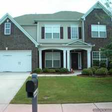Rental info for Luxurious 4/5 BR, 2.5 BA Home, 2 Car Garage, Heritage Creek Convenient to I-385 & Shopping