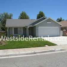 Rental info for Amazing House in Castaic