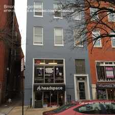 Rental info for 2116 N Charles St in the Charles North area