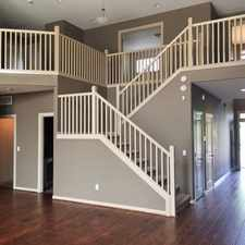 Rental info for 4 Bedroom Gorgeous Woodland Home! Don't Miss out!!