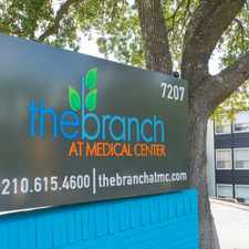 Rental info for The Branch at Medical Center