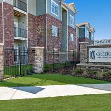 Rental info for Creekside Apartment Homes