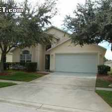 Rental info for Four Bedroom In Osceola (Kissimmee)
