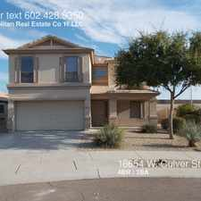 Rental info for 16654 W. Culver St.
