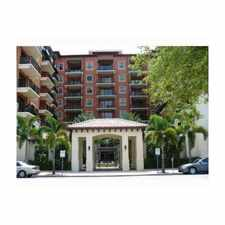 Rental info for 100 Andalusia Avenue in the Coral Gables area