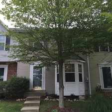 Rental info for Like new 3 finished level townhouse