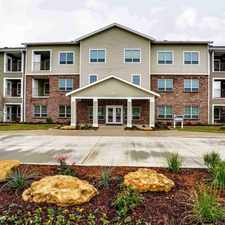 Rental info for The Reserve at McAlister, coming Summer 2015, is a brand new, pet-friendly community of one- and two-bedroom apartment homes designed exclusively for residents 55 and over.