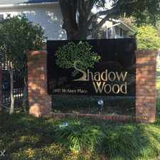 Rental info for Shadow Wood Apartments