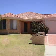 Rental info for Spacious Family Home in the Beeliar area