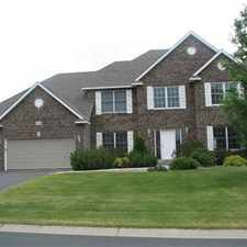 Rental info for Large Executive Home in Lakeville!! 6-24 Mo. Lease