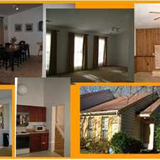 Rental info for Split level with high sloped ceilings in the Burke Centre area