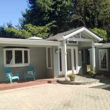 Rental info for LOS GATOS MOUNTAINS - Updated home with free standing cottage, over acre lot.