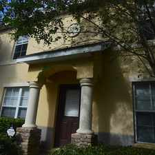 Rental info for 2 story town home in Eiland Park