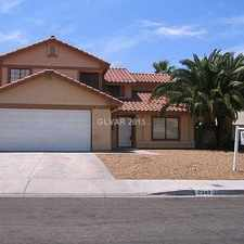 Rental info for 2343 Lone Pine Drive