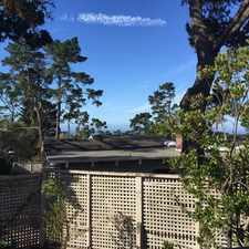 Rental info for Pebble Beach Cottage with Views