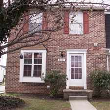 Rental info for $1495/mo - 3 bed 2.5 bath - End of Group Townhouse for Rent