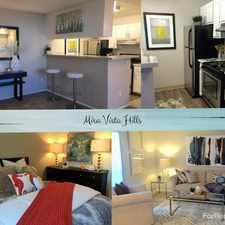 Rental info for Mira Vista Apartments