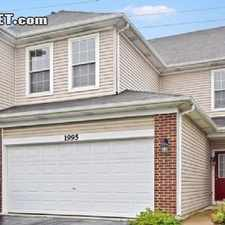 Rental info for $1600 2 bedroom Townhouse in West Suburbs Naperville in the Naperville area