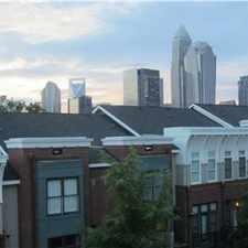 Rental info for For Rent First Ward 2BR / 2BA 4-story Townhouse in the Charlotte area