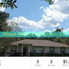 Rental info for Hunter Woods in Alachua