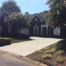 Rental info for BEAUTIFUL HOUSE WITH A POND VIEW IN CHANNING PARKWAY