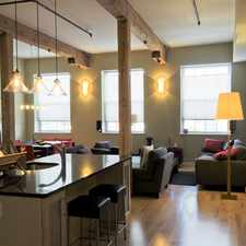 Rental info for Modern 1 BR Condo at Clock Tower!