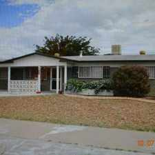 Rental info for very nice and cozy home in a peaceful neighborhood in the El Paso area