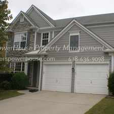 Rental info for 4BR, 2.5 Bath home with Hardwood floors on Main, stainless steel appliances