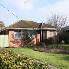 Rental info for Spacious & Cosy in the Geelong area