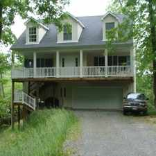 Rental info for Waterfront 4 BR three story home