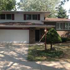 Rental info for 19141 Greenbay Ave in the Lansing area